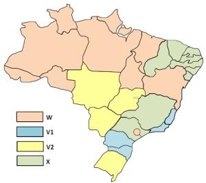 450 MHz Band Regions - Brazil