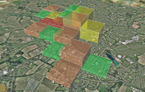 Mean Opinion Score of WiFi Service in Cambridge, UK